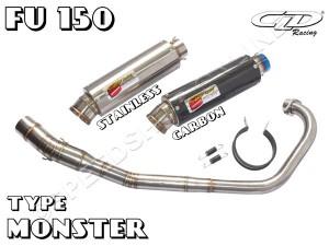 harga Knalpot CLD Racing Satria FU/Raider type Monster Silencer Carbon Tokopedia.com