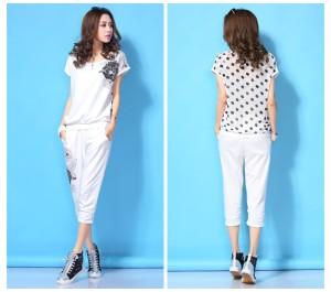 Baju FASHION color WHITE LS35286