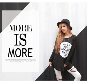 Baju WANITA Fashion Wanita Color BLACK T9473