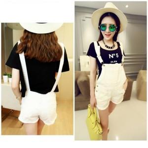 Celana Wanita Fashion Cantik Color WHITE P35651
