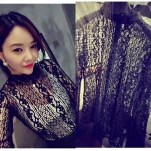 Baju FASHION WANITA Color BLACK T5573