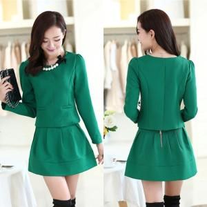 Baju WANITA FASHION color GREEN LS32522
