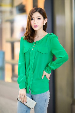 Baju WANITA FASHION Color GREEN T4627