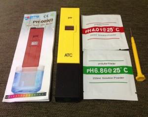 PH Meter Digital Type ATC PH-009(I)-ukur derajad keasaman air ,larutan