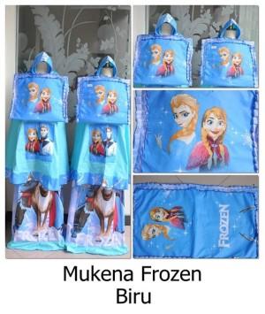 Mukena FROZEN Biru XS