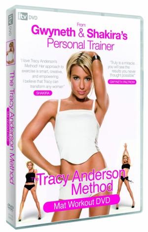 Dvd Senam Aerobik Bersama Tracy Anderson - Mat Workout