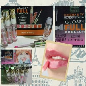 KISS BEAUTY 7591 GLOSSY FULL LIPGLOSS