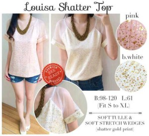 Louisa Shatter Top