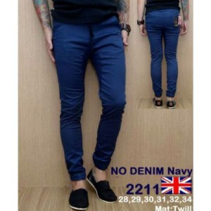 Celana Panjang Denim Navy 2211 !