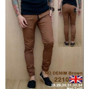 Celana Panjang Denim Brown 2210 !