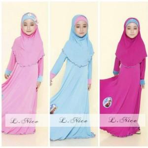 Baju Gamis anak, Dress anak, Baju Muslim Anak Perempuan