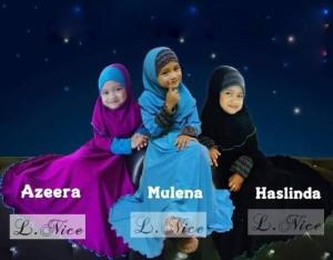 Baju Gamis anak, Baju Muslim Perempuan, Dress anak