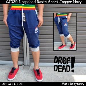 CJ025 Dropdead Rasta Short Jogger Navy