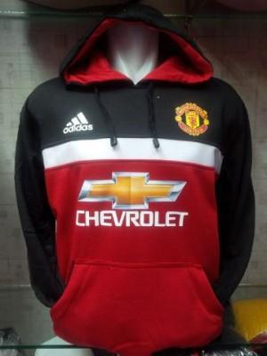 Jaket/Hoodie/Sweater M.U Hitam/Merah