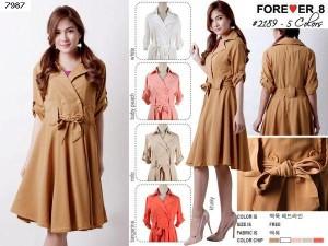 Dress Korea Cantik Murah Forever 8 Dress 2189