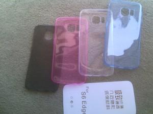 ultrathin case silikon samsung s6 EDGE ( softcase case silikon )