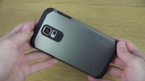 spigen samsung S5 i9600 ( hardcase back case spigen samsung s5 )