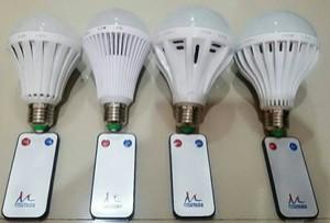 LAMPU BOHLAM LED REMOTE KONTROL 30 WATT