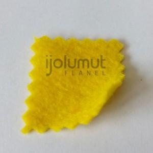 Bahan Kreasi Kerajinan Kain Flanel A43 Kuning