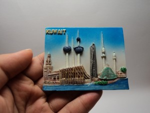 magnet kulkas oleh oleh murah negara kuwait