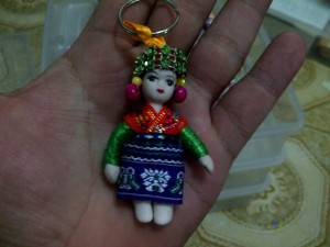 gantungan kunci oleh oleh murah negara tibet