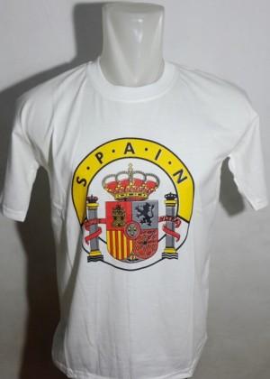 kaos oleh oleh murah negara spanyol