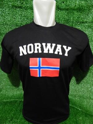 kaos oleh oleh murah negara norwegia