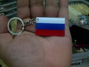 gantungan kunci oleh oleh murah negara rusia