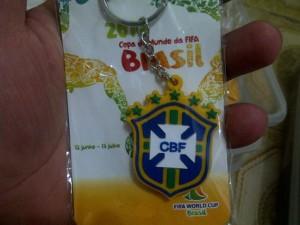 cinderamata gantungan kunci negara brasil