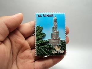 magnet kulkas oleh oleh murah negara qatar