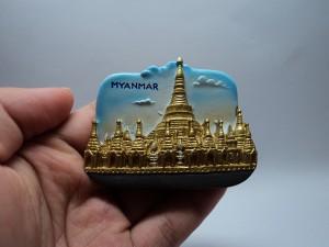 magnet kulkas oleh oleh murah negara myanmar