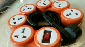 Flex Pivot Power -Orange & Blue