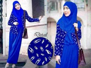 Gamis cardi 3in1 / hijab cardi murah / baju muslim murah