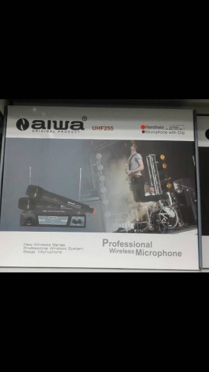 Mic wireless Aiwa UHF 255