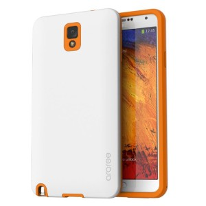 Araree Back Import Korean Case for Samsung Galaxy Note 3 - White-Orns