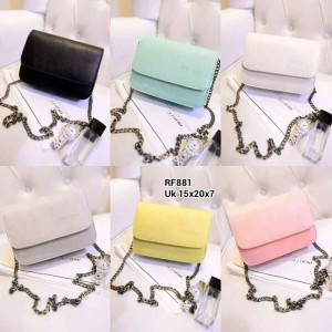 Tas Import Fashion Korea Mini RF881 (6 Pil Warna)