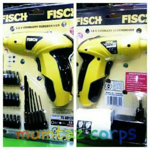Bor charger fisch ts 601200 3,6v Tanpa kabel