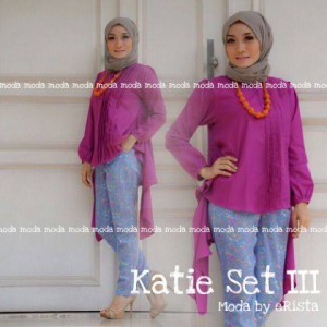 Busana Muslimah Katie set vol.3 by moda