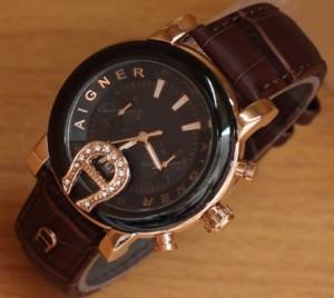 jam tangan aigner baridona coklat