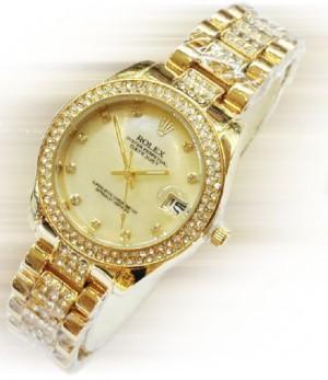 jam tangan rolex gold kw super