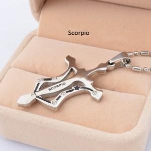 High Quality Kalung Scorpio (Tersedia 12 Kalung Zodiak)