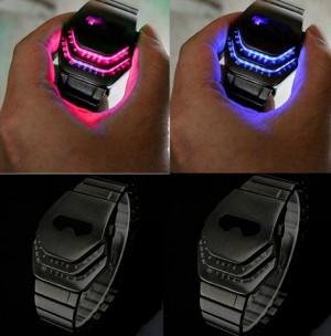 Snake Head LED Watch band jam tangan digital anak pria cowok laki laki