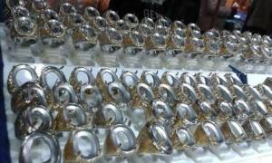 ring titanium ukuran batu 20-30mm