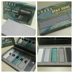 LORAC Stay Cool Eye Shadow Palette (Limited Edition)