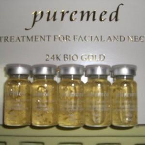 Puremed Serum Gold 24 K Italy-Ampuh sbg pemutih kulit wajah/Anti aging