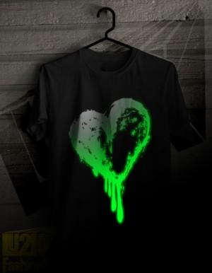 My Heart is Bleeding Glow In The Dark    L2K - 10