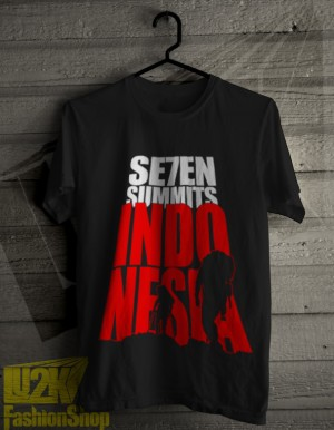 Seven 7 Summit Indonesia kaos gunung rock climbing L2K - 4