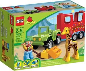LEGO 10550 DUPLO Circus Transport