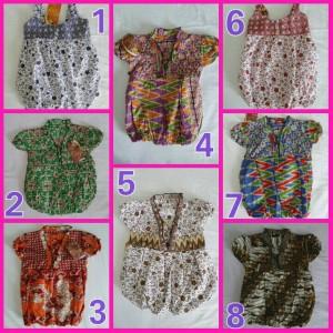 Dress Batik 6-12 Bulan