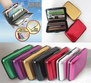 card guard alluminium/ dompet kartu atm